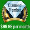 Diamond Level Membership Cost=$99.99 per month