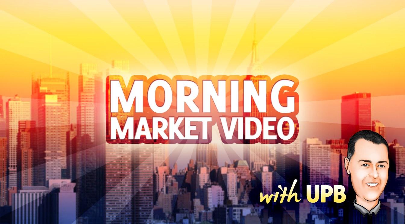 Morning Market Video – $MS $GS $JPM $DDD $NFLX $TSLA $JPM